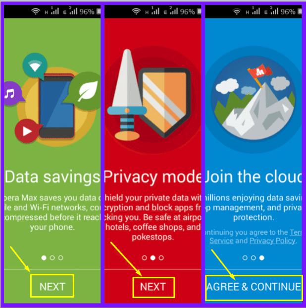تطبيق Opera Max لتوفير استخدام الانترنت