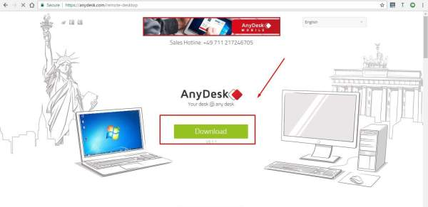 تحميل AnyDesk remote PC Mac control