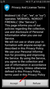 تحميل Mobiwol NoRoot Firewall