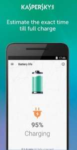 تطبيق Kaspersky Battery Life
