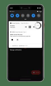 تطبيق لتسجيل شاشة الهاتف
