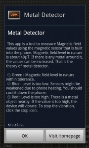 Metal Detector Android App Review