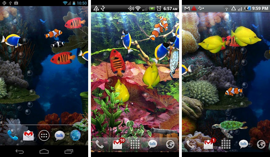 Best aquarium and fish live wallpapers for Android   Android Authority Aquarium Free Live Wallpaper  Kittehface Software