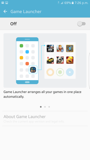 The Game Launcher is a great tool for gamers