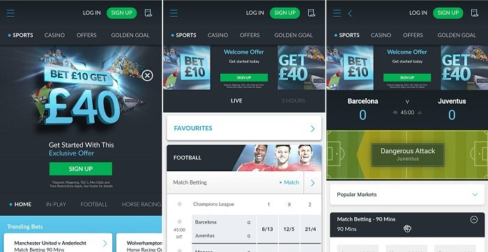 Full review of the Betvictor Android app