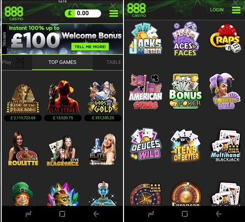Guide to the 888 casino app