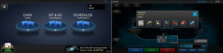 Get the new 888 poker Android app