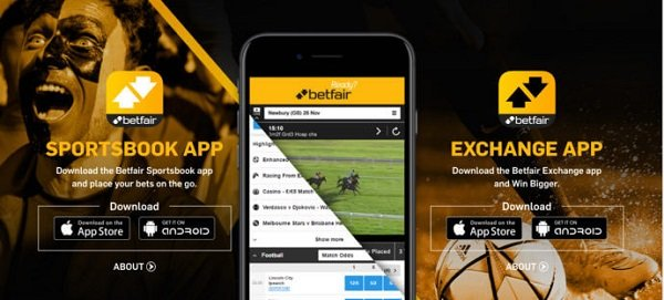 Betfair app on Google Play