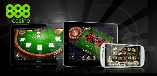 Mobile casino app from 888
