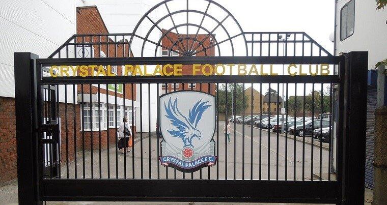 The gates at Crystal Palace