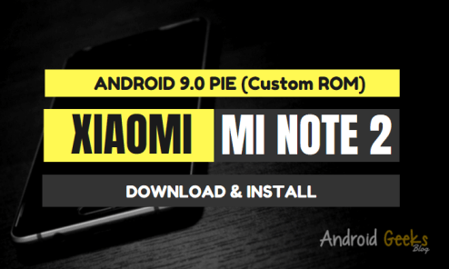 Android 9.0 Havoc OS GSI Pie ROM