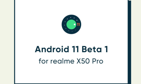 Android 11 beta for Realme