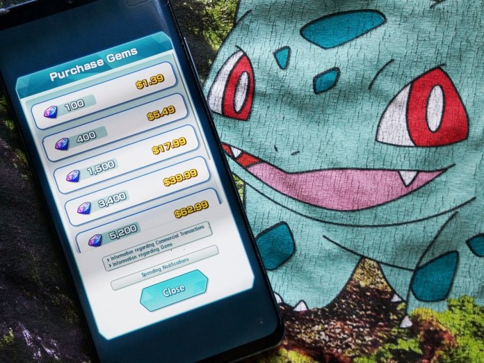 What's the best way to add gems to your child's account in Pokémon Masters?