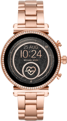 Michael Kors Access Sofie Heart in rose gold