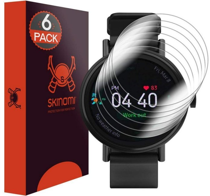 These are the top screen protectors for the Galaxy Watch Active