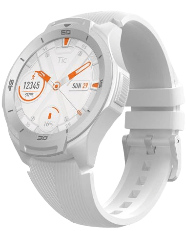 TicWatch S2 in white