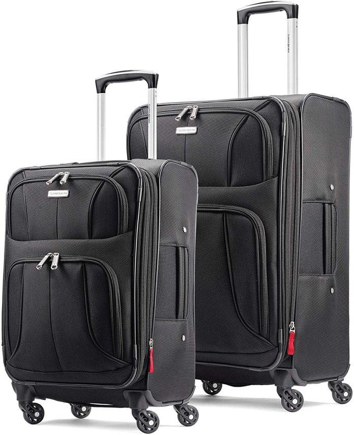 Traveling quickly? Grab a 2-piece Samsonite luggage set for 48% off
