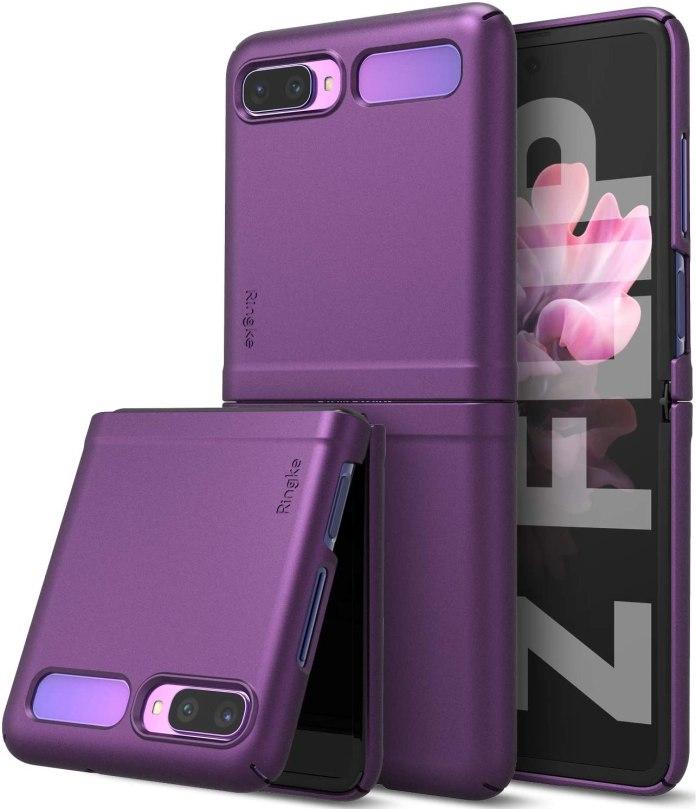 Ringke Slim Galaxy Z Flip Case Purple