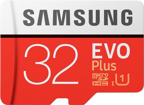 Samsung EVO Plus 32GB Cropped