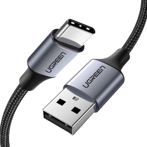 UGREEN Fast Charger Cable Cropped Render