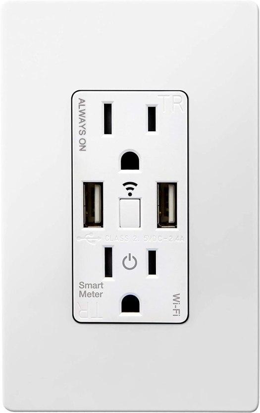 Topgreener Smart Outlet Smart Meter