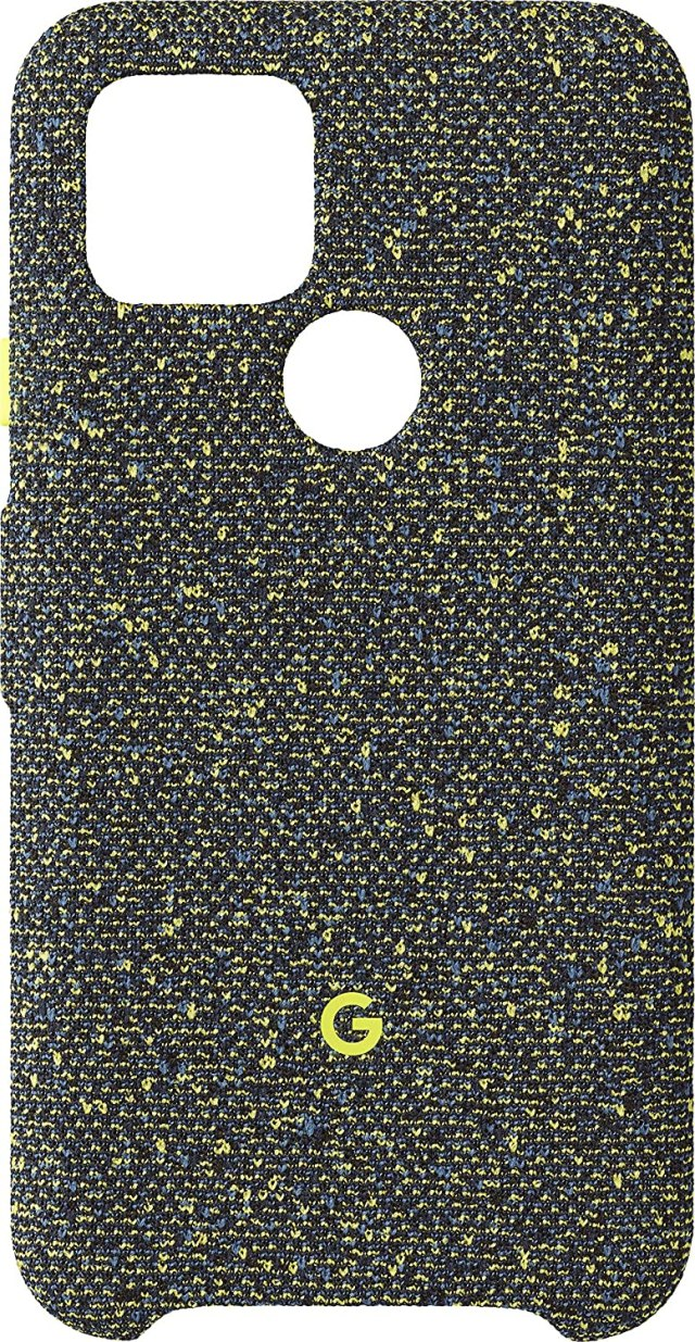 Google Pixel 5 Fabric Case Green