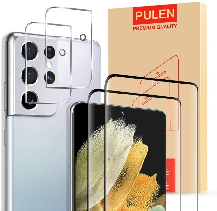 PULEN Galaxy S21 Ultra Screen Protector Render