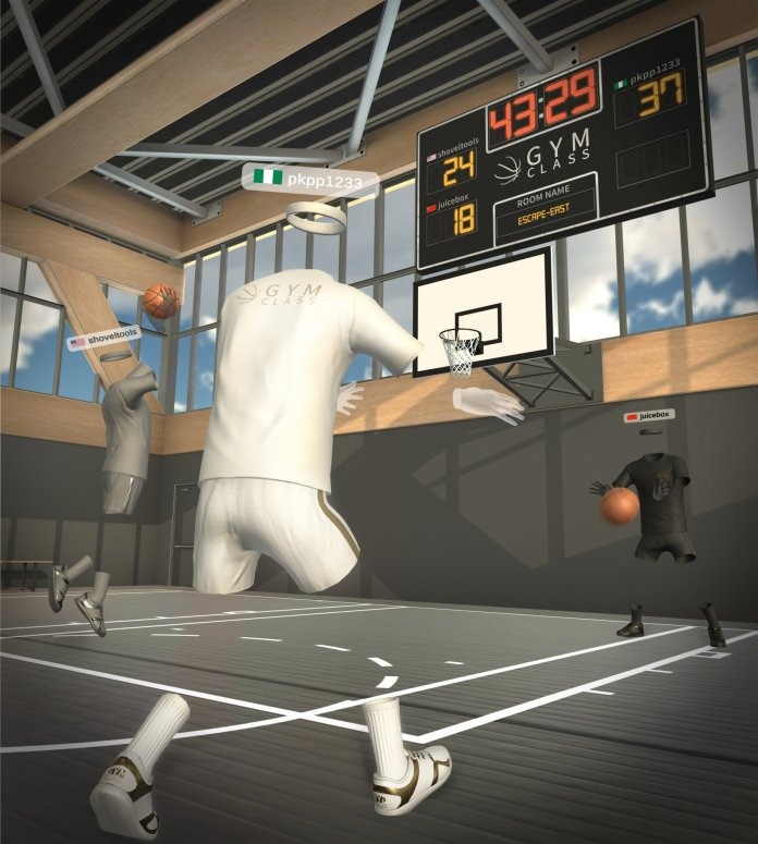 Gym Class VR on App Lab for Oculus Quest 2