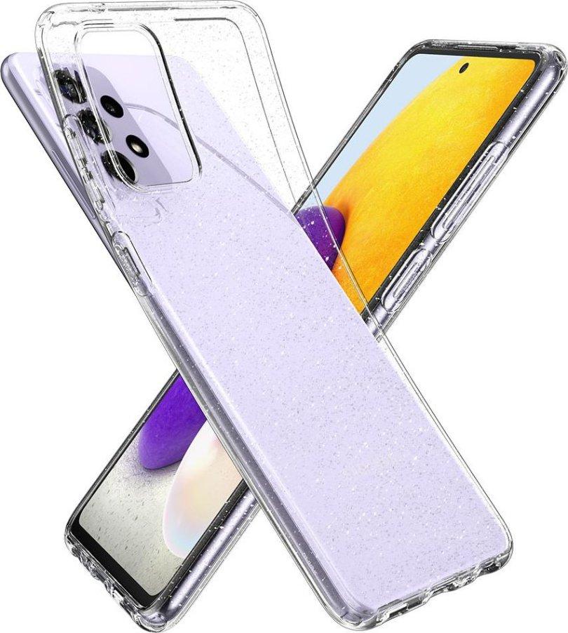 Spigen Liquid Crystal Glitter Galaxy A72 Render