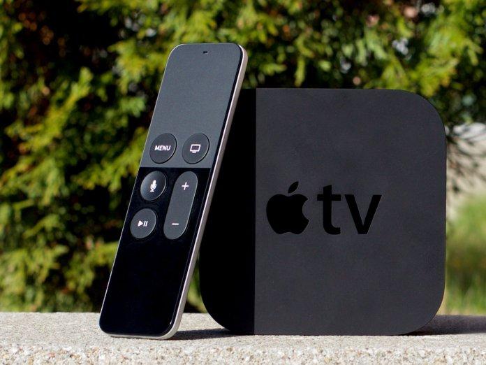 Apple TV 4K hub and remote