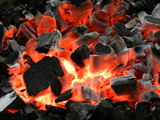 bbqfire-wallpaper Get smoky with these barbecue wallpapers Android