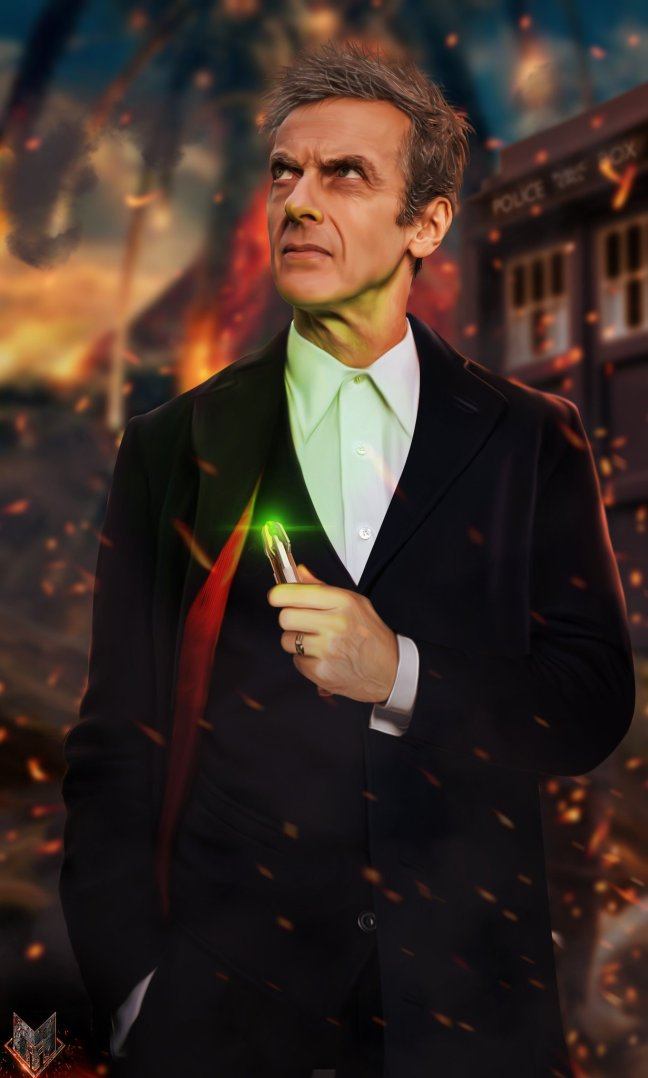 the_12th_doctor__by_spidermonkey23-d821h4c Grab your sonic and go for an adventure with these Doctor Who wallpapers! Android