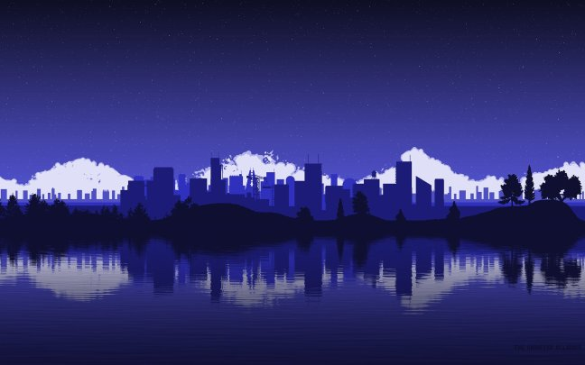 monochrome-metroplex-wall Get some cityscape on your home screen with these wallpapers Android