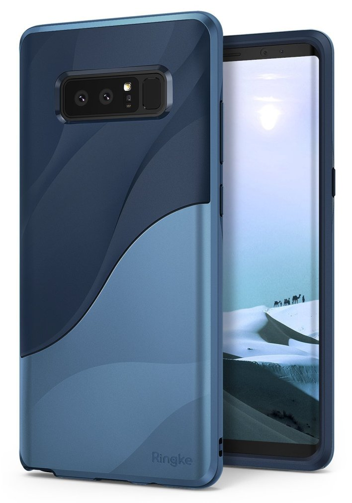 Coque Ringke Coastal Blue Wave pour Galaxy Note 8