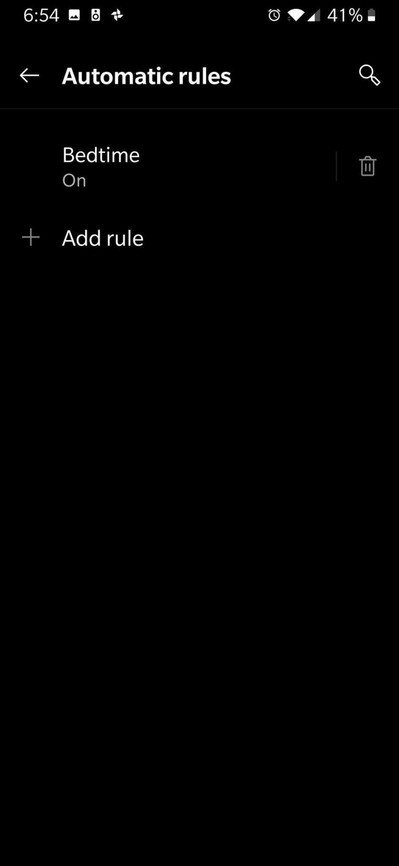 Ajouter une règle