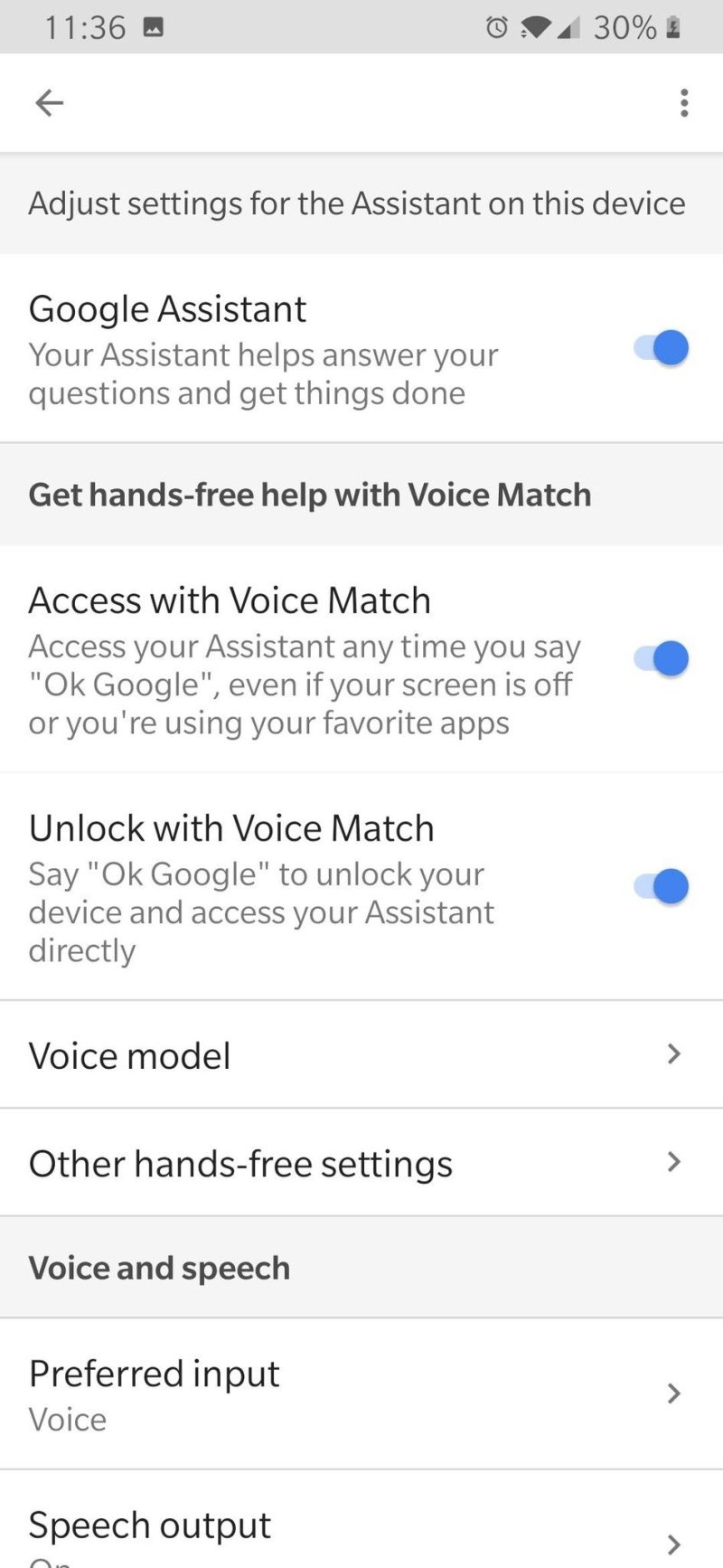 Modèle de voix