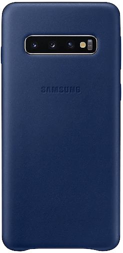 Nothing says luxury like a Galaxy S10+ and some leather