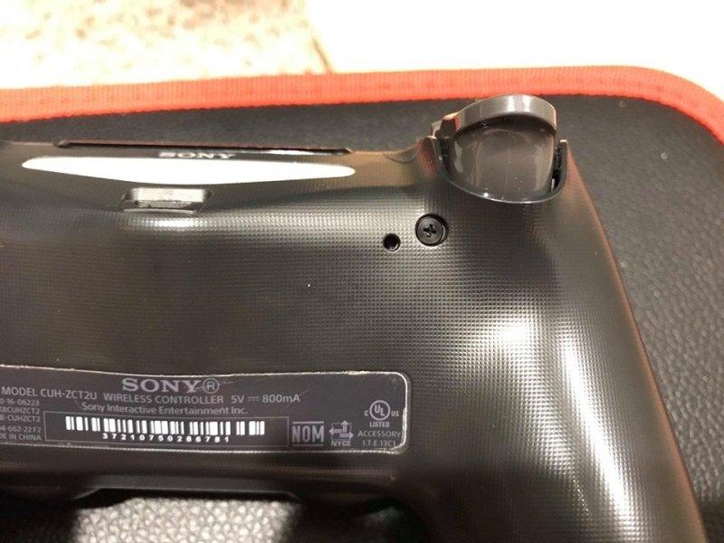 DualShock 4 Reset Button