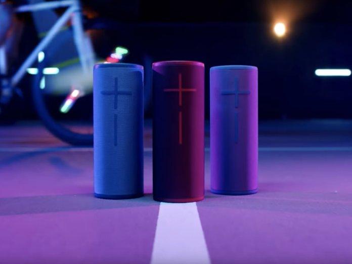 three megaboom 3 speakers