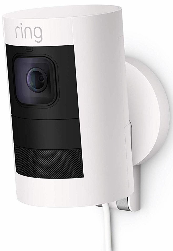 Does the Logitech Circle 2 hold up to the Ring Stick Up Cam Plug-In?
