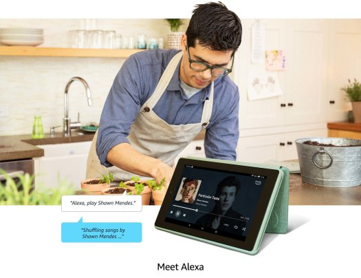 Amazon Fire 7 Tablet official lifestyle