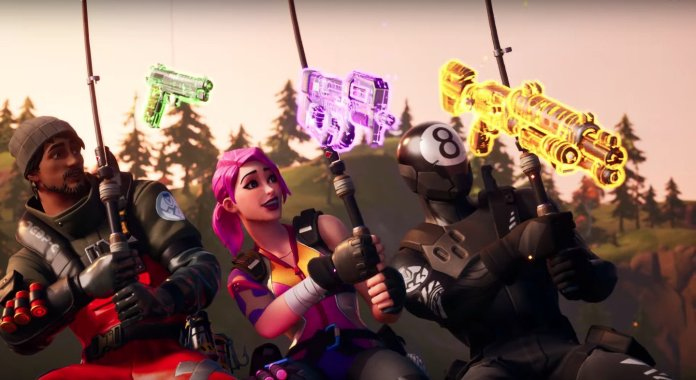 Fortnite Chapter 2: The best way to Fish and catch a weapon