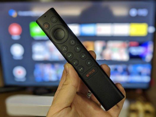 The all-new NVIDIA Shield TV remote