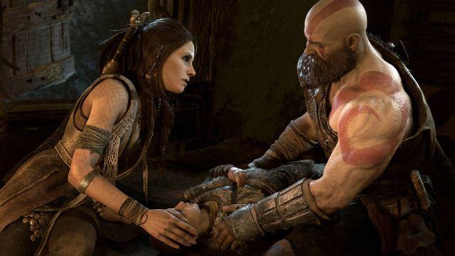 Kratos and Freya