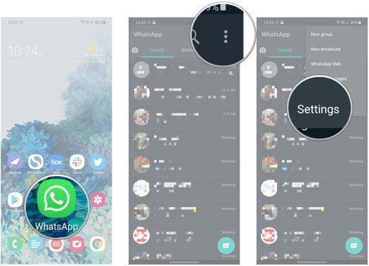 How to use fingerprint lock on WhatsApp