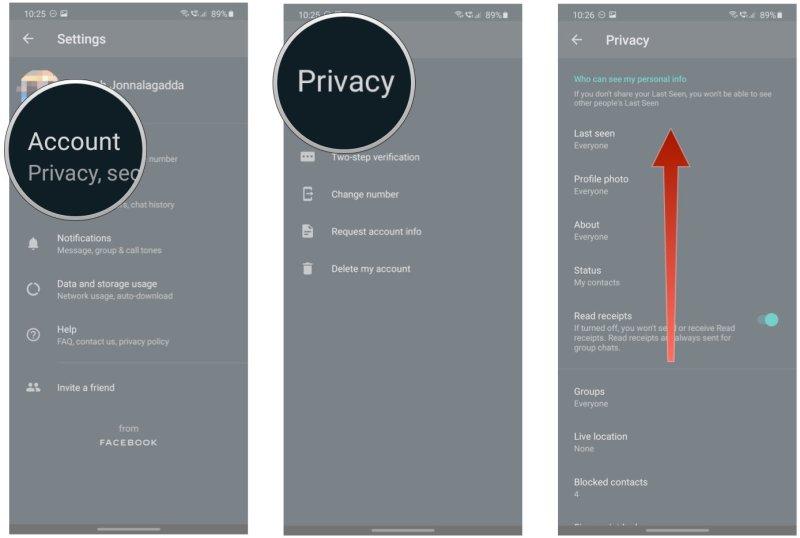 How to whatsapp fingerprints on a lock