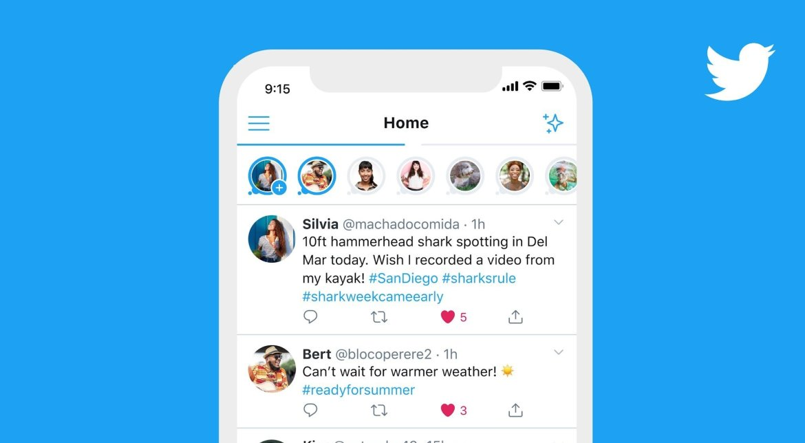 Twitter Stories Feature Fleets
