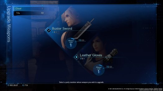 Ff7 Remake Weapons