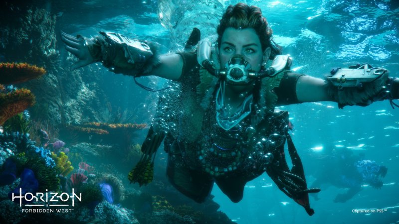 Horizon Forbidden West Aloy Underwater