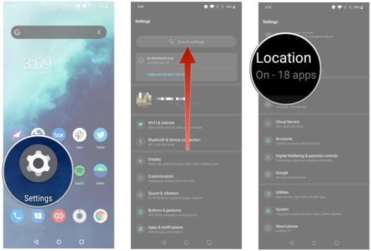 How to find apps that are sharing your location on Android